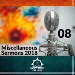 Miscellaneous Sermons 2018